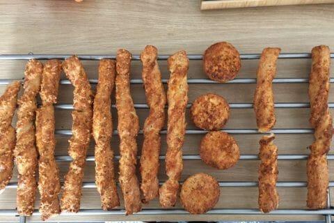 Bâtonnets jambon fromage Thermomix par Titia974