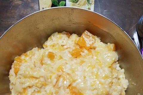 Risotto butternut et chèvre frais Thermomix par Ju_37