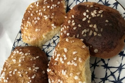 Pain au lait au Thermomix