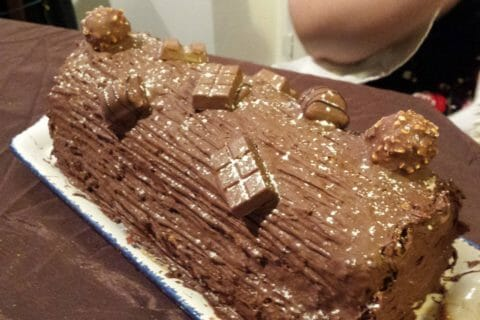 Bûche Ferrero Rocher Thermomix par chawingparty