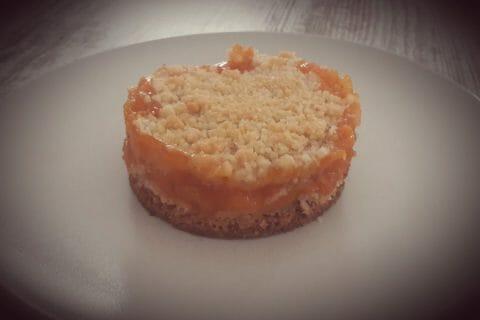 Crumble aux abricots Thermomix par Stef38230