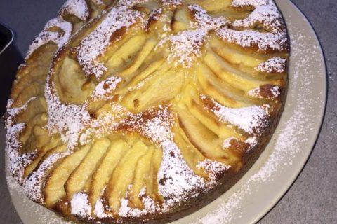 Gâteau aux pommes et mascarpone Thermomix par chirine