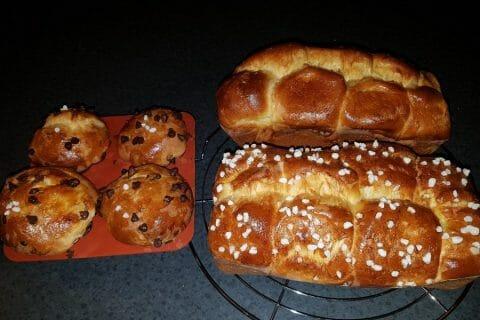 Brioche du boulanger Thermomix par eloday88
