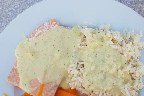 Filet de cabillaud et sa sauce persillée au Thermomix