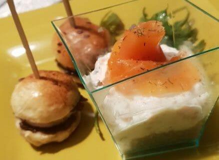 Cheesecake au saumon sans cuisson Thermomix par gigi22000