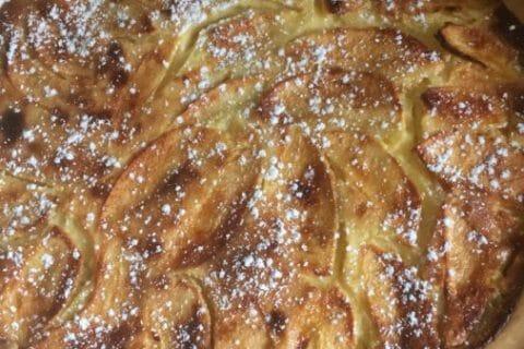 Tarte normande aux pommes Thermomix par Peinda