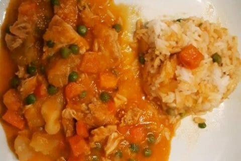 Poulet Thaï au curry Thermomix par CASALOLO