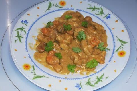 Curry de poulet aux patates douces Thermomix par MorganeSire