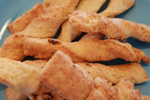 Bâtonnets jambon fromage Thermomix par Aurromgab