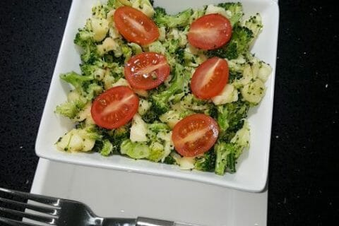 Salade de brocolis Thermomix par hal57