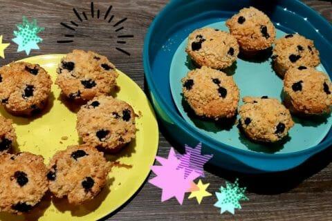 Muffins aux myrtilles au Thermomix