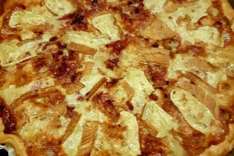 Tarte aux pommes de terre et lardons au Thermomix