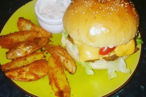 Pains hamburger Thermomix par hafida77