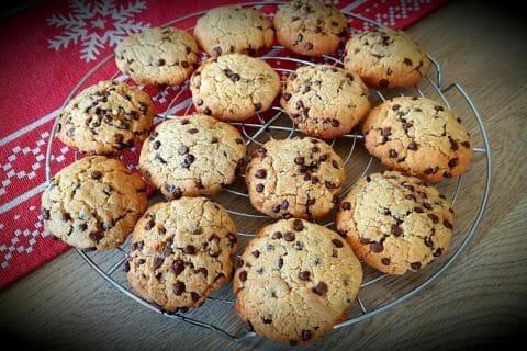 Cookies beurre de cacahuète et pépites de chocolat Thermomix par Ludivine973
