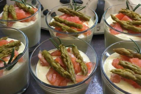 Mousse d'asperges au saumon fumé Thermomix par chbive