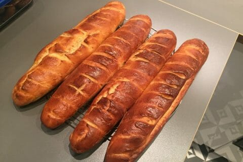 Pain viennois Thermomix par chachav