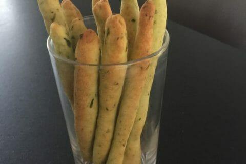 Gressins parmesan basilic Thermomix par Inthemix28