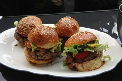 Buns burger Thermomix par carolineG31
