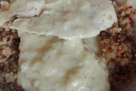 Blancs de poulet sauce moutarde et curry Thermomix par originebike