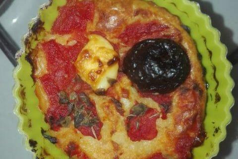 Muffins salés façon pizza Thermomix par originebike