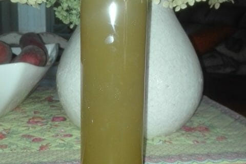 Sirop de gingembre au Thermomix