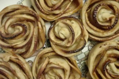 Roses feuilletées aux pommes Thermomix par originebike