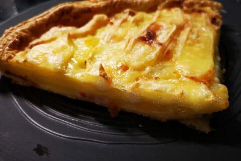 Tarte aux pommes de terre et lardons Thermomix par Pi-aiM