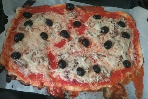 Pizza Reine au Thermomix