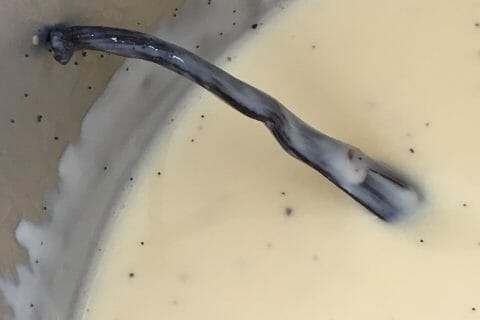 Crème anglaise au Thermomix