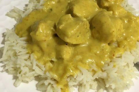 Blancs de poulet sauce moutarde et curry Thermomix par Poussinette31