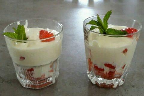 Délices fraises et chocolat blanc au Thermomix