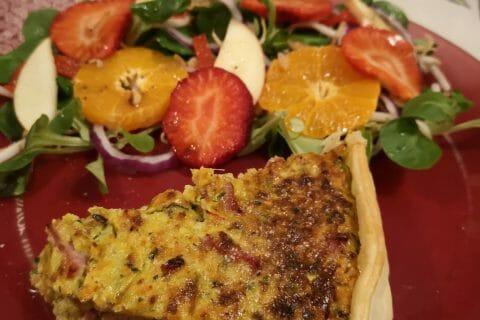 Tarte courgettes et carottes au Thermomix