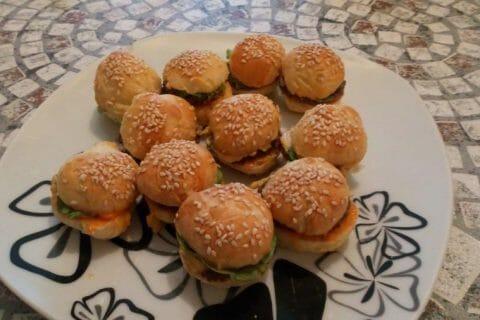 Mini burgers Thermomix par lokev