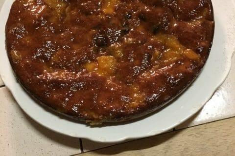 Gâteau des femmes pressées poires et chocolat Thermomix par laptiterebelle