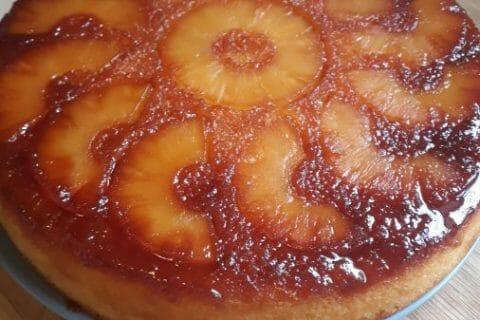 Gâteau renversé à l'ananas au Thermomix