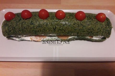 Roulé aux épinards, saumon et Boursin Thermomix par cricri95