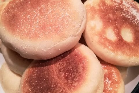 Muffins anglais Thermomix par Titecocci57