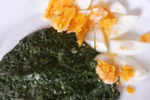 Épinards frais à la crème au Thermomix