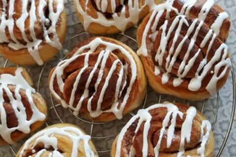 Cinnamon roll Thermomix par Fac7