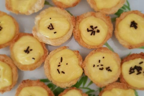 Mini tartelettes au citron au Thermomix