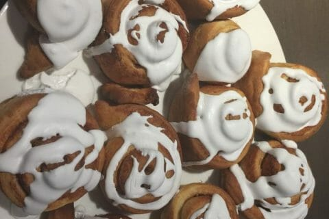 Cinnamon roll Thermomix par Coralie67