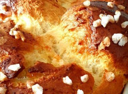 Brioche du boulanger Thermomix par Magaly
