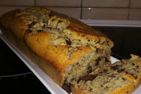 Cake banane et pépites de chocolat Thermomix par Cosette02