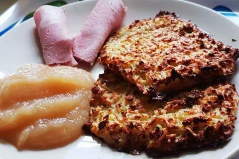 Galettes de pommes de terre au four Thermomix par Akwell