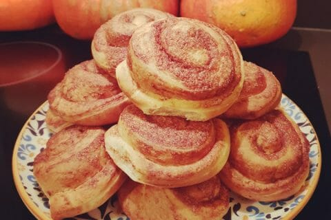 Cinnamon roll Thermomix par Akwell
