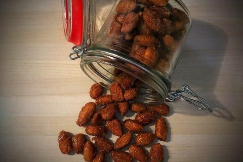 Amandes grillées à la cannelle et au miel Thermomix par nbkhm