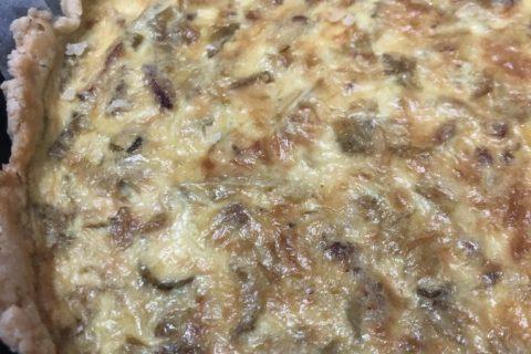 Tarte fondante aux endives et au curry Thermomix par nbkhm