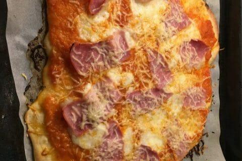 Pizza Reine au Thermomix