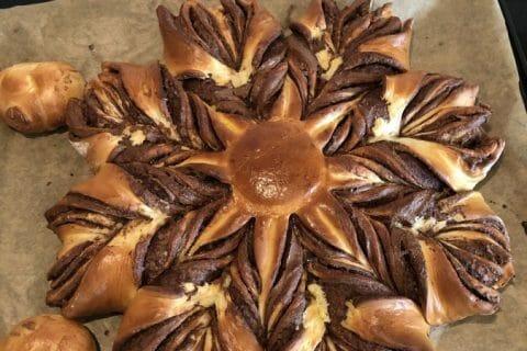 Brioche étoilée au Nutella au Thermomix