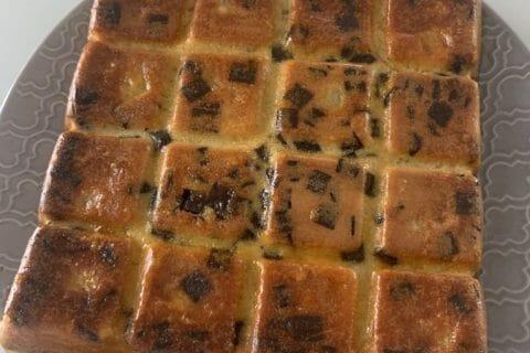 Gâteau des femmes pressées poires et chocolat Thermomix par LeilaR
